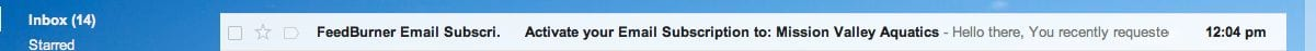 Make sure you don't delete this email from your inbox, or you won't be able to activate your account!
