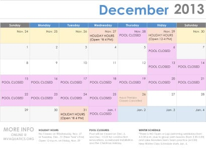 Microsoft Word - Holiday Calendar.docx